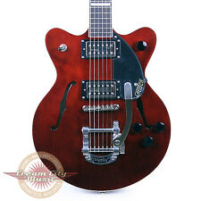 Gretsch G2655T Streamliner Center Block Jr. Junior w/ Bigsby Walnut Stain Demo