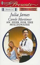 An Heir for the Millionaire: The Greek and the Single MomThe Millionaire's