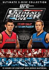 UFC The Ultimate Fighter . Season 15 Live . Team Cruz vs. Team Faber . 5 DVD NEU