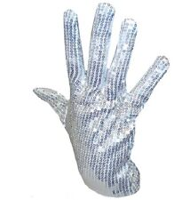 Mens 80s 1980s King of Pop Glove Michael Jackson Sequin Glove New 1st Class Post