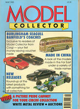 MODEL COLLECTOR Magazine May 1995 Burlingham Seagull Banfield EFE Corgi Dinky