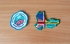 2 Badges: 22nd World Scout Jamboree 2011 (Sweden) UK & Southeast IST/JPT