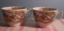 2 English Transferware Cups
