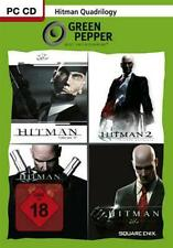 Hitman Quadrilogy Blood Money + Contracts + Silent Assassin + Teil 2 Neuwertig
