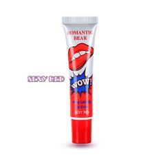 new 1 Pcs Fashion Lip Gloss TATTOO Megic Color Peel Mask Tint Pack Long Lasting