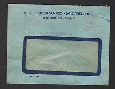 """SURESNES (92) MOTEURS """"S.A. MOTEURS BERNARD"""" en 1947"""