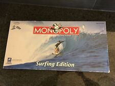 Monopoly Surfing Edition Board Game Complete and Excellent Condition