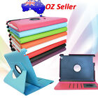 360° Rotating PU Leather Case Folio Skin Cover Stand for Apple iPad 2 3 4 Color