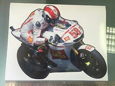 Marco Simoncelli Sticker / Decal -  Bike Sticker 300mm x 230mm LARGE