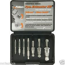Alden 7017P Grabit Select Series Drill-Out Power Extractor 7 Piece Kit