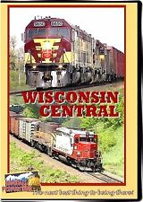 WISCONSIN CENTRAL HIGHBALL PRODUCTIONS NEW DVD-R VIDEO SD35, F45, SDL39 + MORE