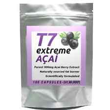 100 T7 EXTREME ACAI BERRY purest 900mg strongest diet pills SLIMMING/WEIGHT LOSS