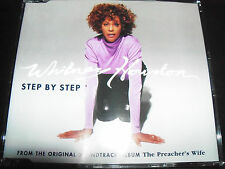Whitney Houston Step By Step Australian 5 Track Remixes CD Single – Like New