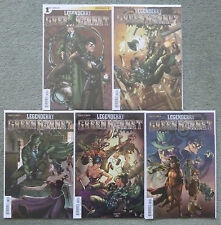 LEGENDERRY GREEN HORNET #1-5 SET.GREGORY/PEEPLES.DYNAMITE 1ST PRINT.NM.STEAMPUNK