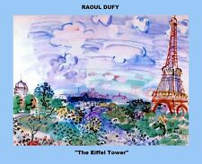 SIX (6) COPIES OF THE PAINTINGS OF RAOUL DUFY A GREAT FRENCH PAINTER
