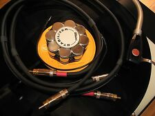 SME TONEARM INTERCONNECT RCA CABLE wGnd 4FT Thorens Garrard Technics Project