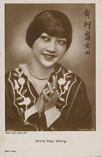 ANNA MAY WONG Postcard Glamorous Chinese-American Silent Film Actress RPPC Nice!