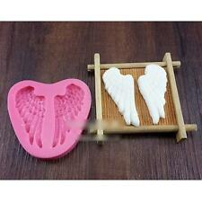 3D Angel Wing Silicone Cake Fondant Decorating Bakeware Mold Candy Tool Supply