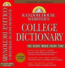 Random House Websters College Dictionary: Random House Webster's College...
