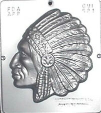 Indian Chief Chocolate Candy Mold  521 NEW