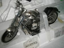 Franklin Mint 1:10 Harley Davidson 2005 V-ROD B11989 PEWTER B11989 NEW MIB A
