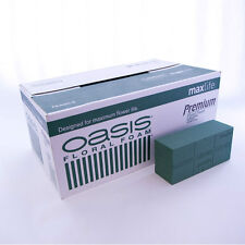 20 x OASIS IDEAL MAX LIFE BRICK BLOCK FLORIST WET FRESH FLOWERS FLORAL FOAM BOX