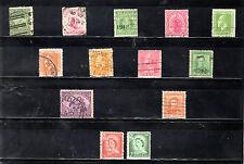 Nueva Zelanda Monarquias valores del año 1903-56 (BN-186)