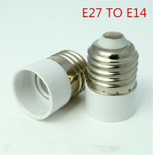 Bayonet E27 To E14 Screw Light Bulb Lamp Adaptor Fitting Socket Converter Holder