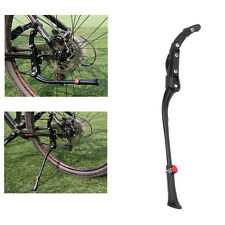 "Adjustable Aluminium Alloy Bike Bicycle Kickstand Side Fit for 20"" 24"" 26"" Black"