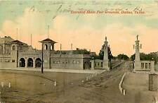 Texas, TX, Dallas, Entrance State Fair Grounds 1916 Postcard