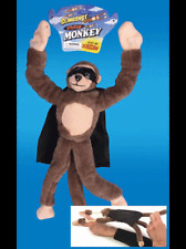 SLINGSHOT FLYING MONKEY SOFT PLUSH SCREAMING TOY ANIMAL GIMMICK MAGIC TRICK KIDS