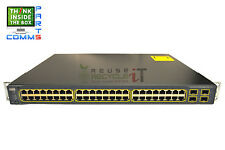 CISCO WS-C3560V2-48PS-S 3560V2 48 10/100 PoE SWITCH *12 MONTH WARRANTY*