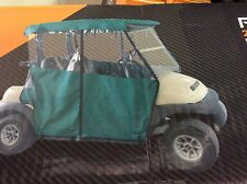 Ultimate Club Car PRECEDENT 3 Sided Golf Cart Enclosure - (2 Pass) - BLACK ONLY
