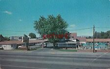 c1950's GRANDEE LODGE Yakima WA, motel, Mr & Mrs Johnie Walker owners, old cars