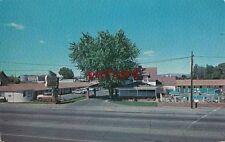 c1950's GRANDEE LODGE Yakima WA, motel, Mr & Mrs Johnie Walker owners, old cars