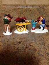 DEPARTMENT 56 POINSETTIAS FOR SALE COLLECTIBLE FIGURINE 56.54861