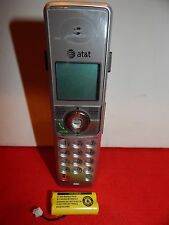 AT&T model SL82558 cordless HANDSET - telephone speaker wireless with battery EC