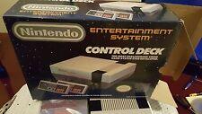 Nintendo Control Deck (NES) Nearly Complete In Box + NES Advantage