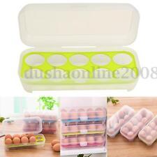 Boîte De Rangement à 10 Oeuf Plastique Stockage Pr Réfrigérateur Frigo Cuisine