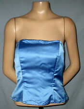 Mackenzie Michaels Strapless Bustier Size 10 Fully Lined Gorgeous Beadin