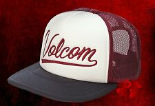 New Volcom Men's Chopped Cheese Snapback Trucker Cap Hat