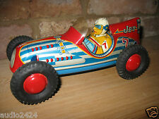 SUPER MARUSAN KOSUGE JET #7 INDY  RACER 1955 JAPAN TIN TOY CAR VINTAGE TINPLATE