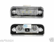 LED plaque d'immatriculation éclairage pour mercedes slk r171 CAN-BUS 6000k plug & play smd