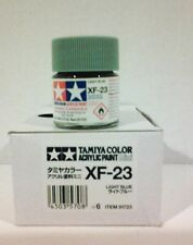 Tamiya acrylic paint XF-23 Light blue   10ml Mini.
