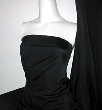 Black Lycra/Spandex 4 way stretch Finish Fabric