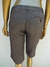 FRENCH CONNECTION FCUK TWEED PANTS SHORTS 6 XS