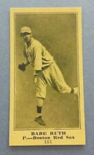Babe Ruth New York Yankees 1916 Rookie reprint Baseball Card