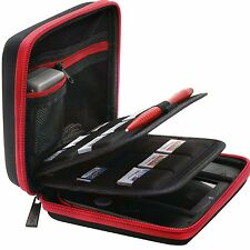 BRENDO Nintendo 2DS Carry-all Hard Case with 24 Game Holders travle Organizer