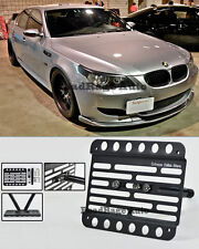 For 05-10 BMW E60 E61 M5 Only Front Tow Hook License Plate Relocator Bracket
