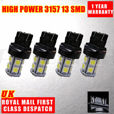 4x 3157 3156 HID White 13 SMD 5050 Signal Brake Backup DRL LED Light Bulb Wedge